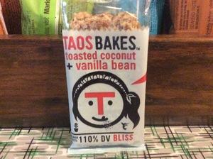 Taos Bakes Toasted Coconut + Vanilla